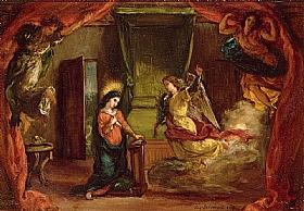 Eugène Delacroix, L'annonciation - GRANDS PEINTRES / Delacroix