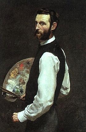 Frédéric Bazille, Autoportrait - GRANDS PEINTRES / Bazille