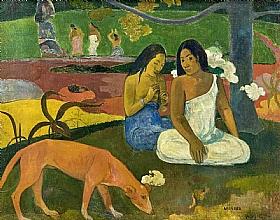Paul Gauguin, Arearea - GRANDS PEINTRES / Gauguin