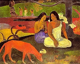 Paul Gauguin, Arearea - GRANDS PEINTRES / Gauguin