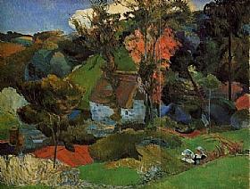 Paul Gauguin, Automne Pont Aven - GRANDS PEINTRES / Gauguin