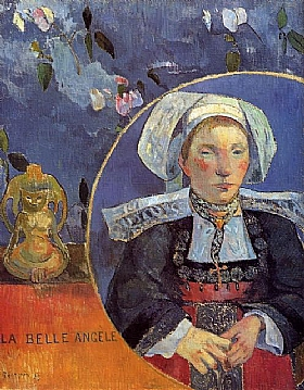 Paul Gauguin, La belle  Angèle - GRANDS PEINTRES / Gauguin