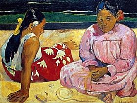 Paul Gauguin, Femmes tahitiennes - GRANDS PEINTRES / Gauguin