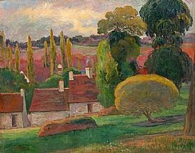 Paul Gauguin, Fermes - GRANDS PEINTRES / Gauguin