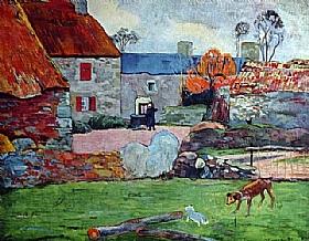 Paul Gauguin, Le Pouldu - GRANDS PEINTRES / Gauguin