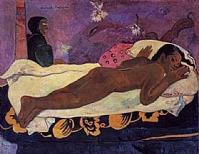 Paul Gauguin, Manao Tupapau - GRANDS PEINTRES / Gauguin