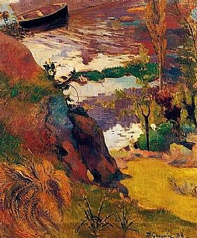 Paul Gauguin, Marins et baigneurs bord de mer - GRANDS PEINTRES / Gauguin