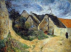 Paul Gauguin, Chemin montant à Osny - GRANDS PEINTRES / Gauguin