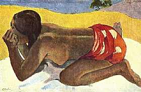 Paul Gauguin, Otahi - GRANDS PEINTRES / Gauguin