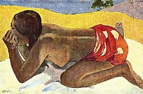 Paul Gauguin, Otahi - GRANDS PEINTRES / Gauguin