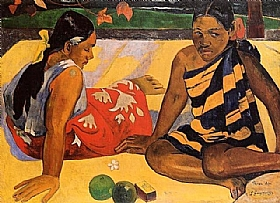 Paul Gauguin, Parau Api - GRANDS PEINTRES / Gauguin