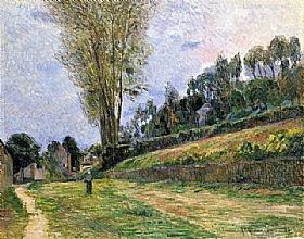 Paul Gauguin, Une rue de Rouen - GRANDS PEINTRES / Gauguin