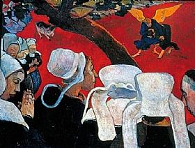 Paul Gauguin, Vision après sermon - GRANDS PEINTRES / Gauguin