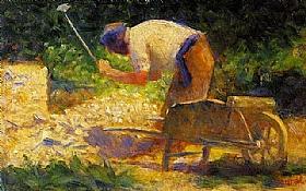 Georges Seurat, Casseur de pierre - Le Raincy - GRANDS PEINTRES / Seurat