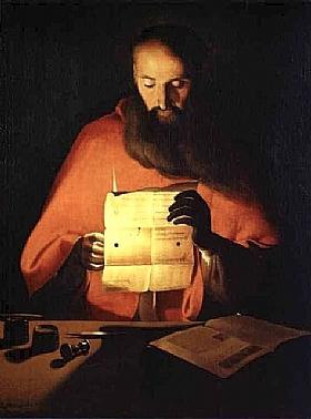 Georges de La Tour, Saint Jérome lisant - GRANDS PEINTRES / De la Tour