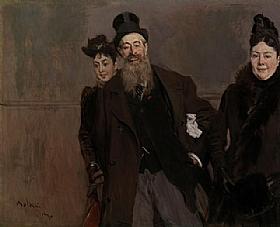 Giovanni Boldini, John Lewis Brown - GRANDS PEINTRES / Boldini