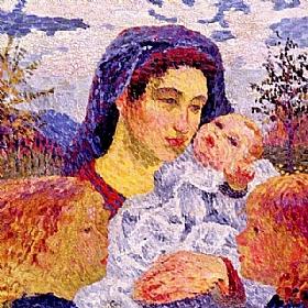 Giovanni Giacometti, Mère - GRANDS PEINTRES / Giacometti