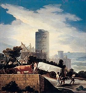 Francisco de Goya, Conduite de la charrue - GRANDS PEINTRES / Goya
