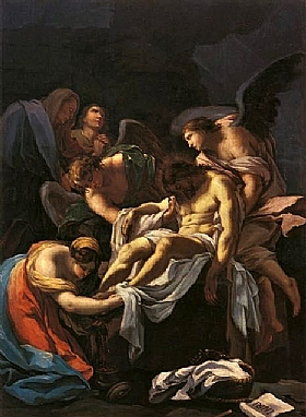 Francisco de Goya, Enterrement du Christ - GRANDS PEINTRES / Goya