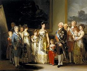 Francisco de Goya, La famille de Charles IV - GRANDS PEINTRES / Goya