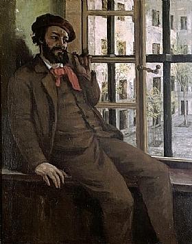 Gustave Courbet, Autoportrait - GRANDS PEINTRES / Courbet