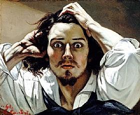 Gustave Courbet, Autoportrait - le désespéré - GRANDS PEINTRES / Courbet