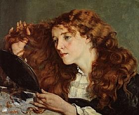 Gustave Courbet, Jo la belle irlandaise - GRANDS PEINTRES / Courbet