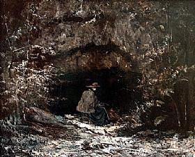 Gustave Courbet, L'hiver - GRANDS PEINTRES / Courbet