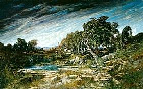 Gustave Courbet, Rafale de vent - GRANDS PEINTRES / Courbet