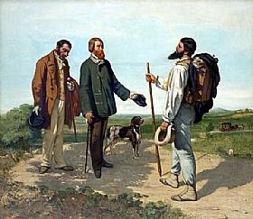 Gustave Courbet, Rencontre - GRANDS PEINTRES / Courbet