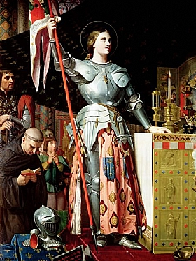 Jean-Auguste Ingres, Jeanne d'Arc - GRANDS PEINTRES / Ingres