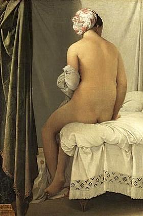 Jean-Auguste Ingres, La baigeuse de Valpinçon - GRANDS PEINTRES / Ingres