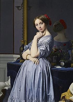 Jean-Auguste Ingres, Louise de Broglie - GRANDS PEINTRES / Ingres