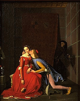 Jean-Auguste Ingres, Paolo et Francesca - GRANDS PEINTRES / Ingres