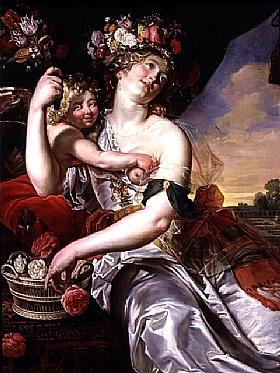 Janssens van Nuyssen, Dieu amour et Dieu fleurs - GRANDS PEINTRES / Janssens