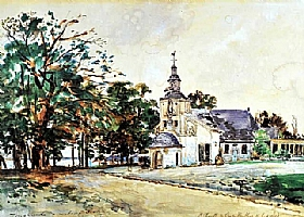 Johan Barthold Jongkind, Chapelle Notre Dame de Grace - GRANDS PEINTRES / Jongkind