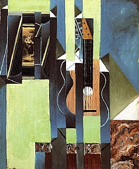 Juan Gris, Guitare - GRANDS PEINTRES / Gris