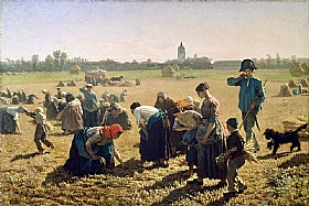 Jules Breton, Glaneuses des champs - GRANDS PEINTRES / Breton