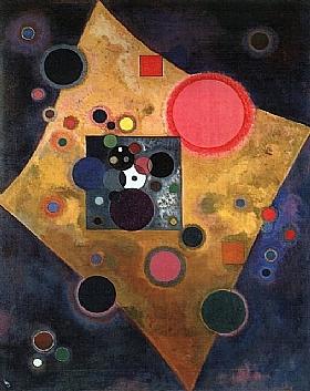 Vassily Kandinsky, Accent rose - GRANDS PEINTRES / Kandinsky
