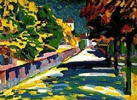Vassily Kandinsky, Automne en Bavière - GRANDS PEINTRES / Kandinsky