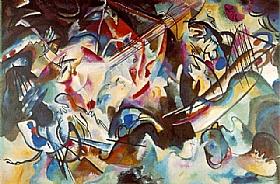 Vassily Kandinsky, Composition 6 - GRANDS PEINTRES / Kandinsky