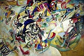 Vassily Kandinsky, Composition 7 - GRANDS PEINTRES / Kandinsky