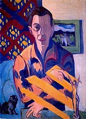 Ernst-Ludwig Kirchner, Autoportrait - GRANDS PEINTRES / Kirchner