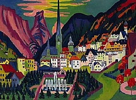 Ernst-Ludwig Kirchner, Davos en été - GRANDS PEINTRES / Kirchner