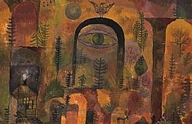 Paul Klee, Avec l'aigle - GRANDS PEINTRES / Klee