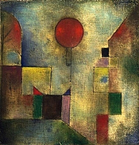 Paul Klee, Le ballon rouge - GRANDS PEINTRES / Klee