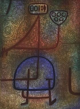 Paul Klee, Jardinière - GRANDS PEINTRES / Klee