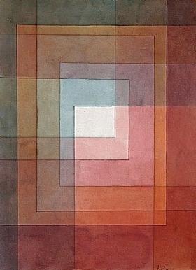 Paul Klee, Blanc polyphoniquement serti - GRANDS PEINTRES / Klee