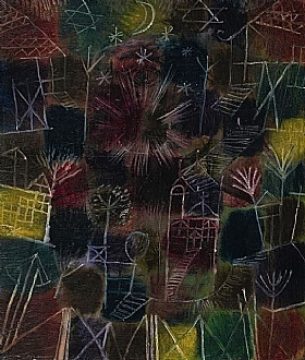 Paul Klee, Composition cosmique - GRANDS PEINTRES / Klee