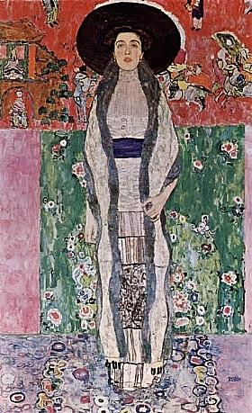 Gustav Klimt, Adele Bloch Bauer II - GRANDS PEINTRES / Klimt